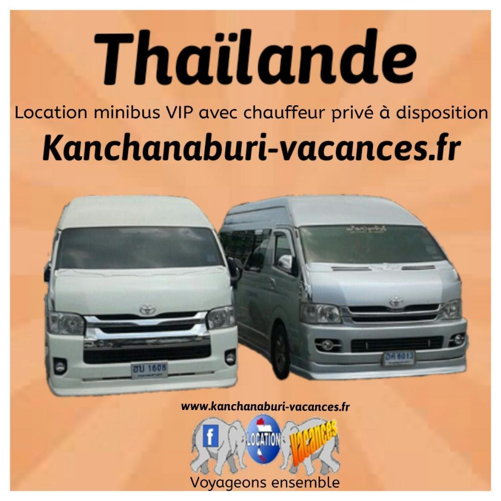 Location minibus VIP 12 places en Thaïlande