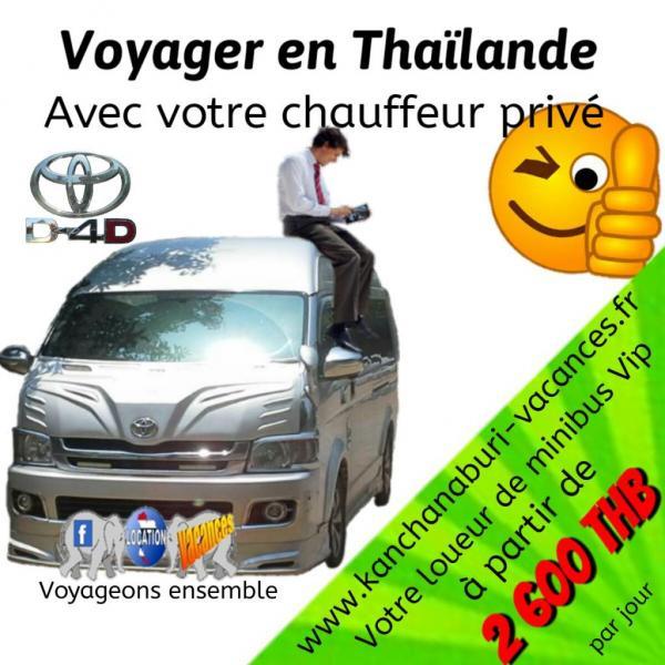 Votre chauffeur privé en Thaïlande