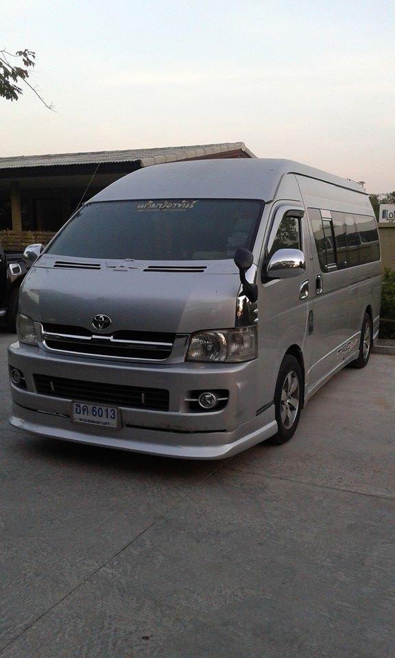 minibus Kanchanaburi vacances