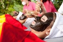 bien-être masque facial