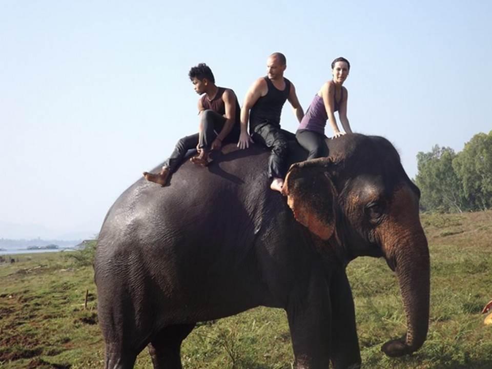 Ganesha park à Kanchanaburi
