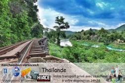 Kanchanaburi hotel tour visite
