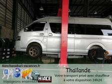 Kanchanaburi ville thailande