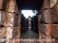 Kanchnaburi Prasat Muang sing parc historique
