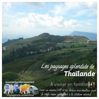 Les montagne de thailande doy sutep chiang mai chiang rai