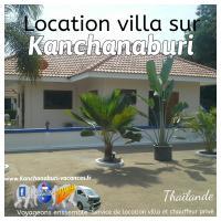 Location villa de vacances kanchanaburi
