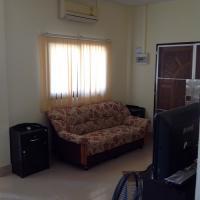 Salon avec climatisation